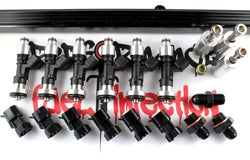 PFI 1JZ-GTE NON VVTi, Top Feed Fuel Rail Conversion kit with BOSCH 1000cc Fuel Injectors