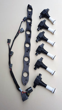 PLATINUM RACING PRODUCTS R32 GTR & GTST R35 COIL KIT FITS UNDER OEM COIL COVER - Boost Factory