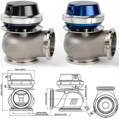 TURBOSMART Hyper-Gate 45mm Wastegate - Boost Factory