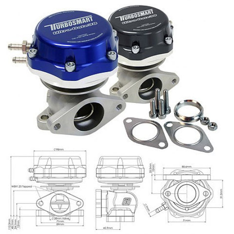 TURBOSMART Ultra-Gate 38mm External Wastegate - Boost Factory