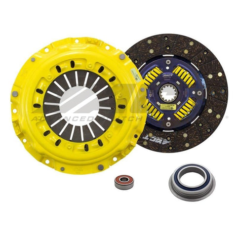 ACT (TS4-HDSS) HD Clutch Kit; Performance Street Disc (SS); Sprung Centered for Noise Reduction on Solid ACT Flywheel; Must use ACT Flywheel for Proper Clearance; Flywheel not Included - Boost Factory