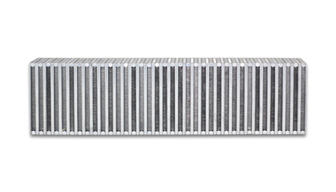 Vibrant Vertical Flow Intercooler Core 24in. W x 6in. H x 3.5in. Thick