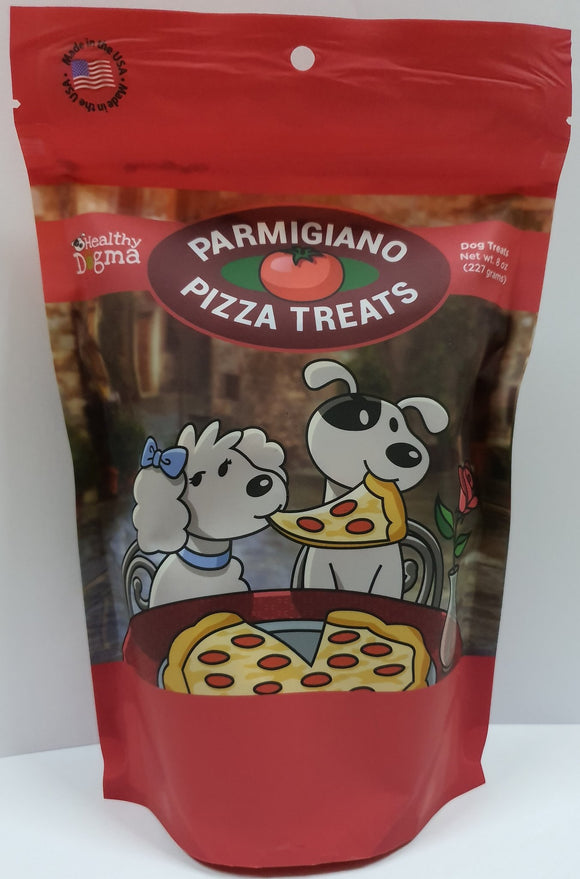 Healthy Dogma Parmigiano Pizza treats