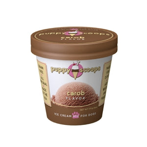 Puppy Scoops Ice Cream Mix Gourmet - Carob