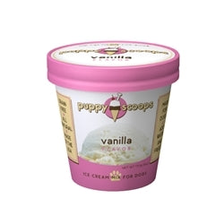 Puppy Scoops Ice Cream Mix Gourmet - Vanilla