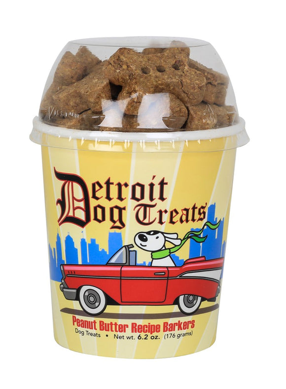 Healthy Dogma Detroit Dog Treats Peanut Butter Barkers Natural Dog cups