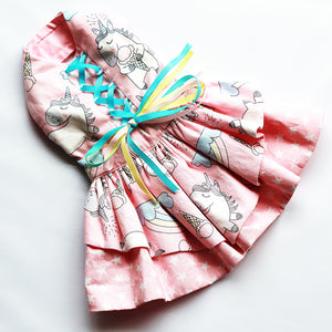 Saccharine in Unicorn Ice Cream Dress