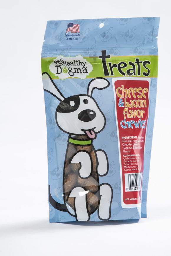 Healthy Dogma Cheese & Bacon Chewies (soft chews)