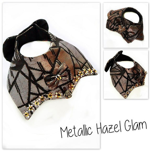 Metallic Hazel Glam Collar