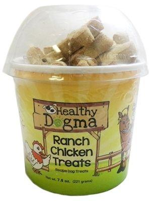 Healthy Dogma Ranch Chicken Barkers Natural Dog Treats Cup