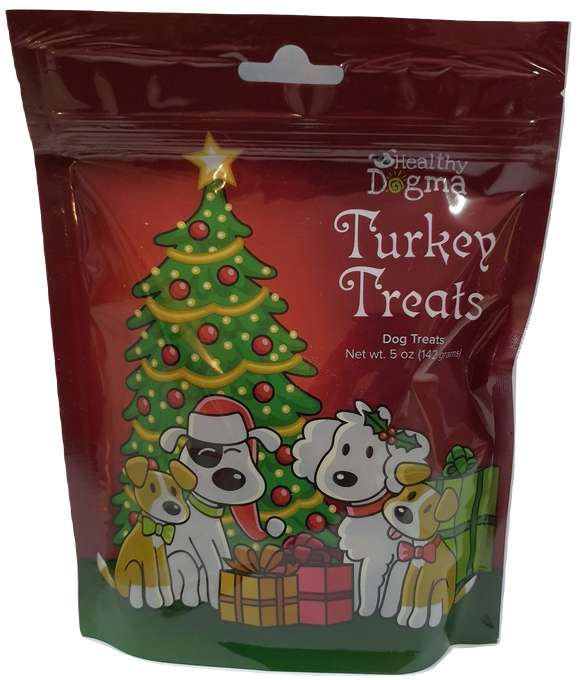 Healthy Dogma Turkey Cookies treats (Christmas edition)