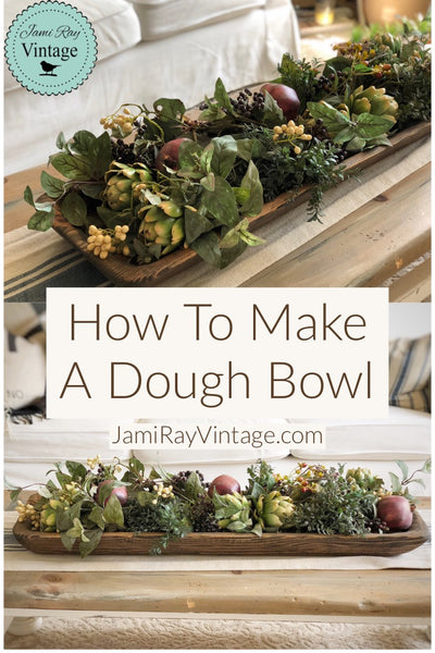 How To Make a Dough Bowl | YouTube Video