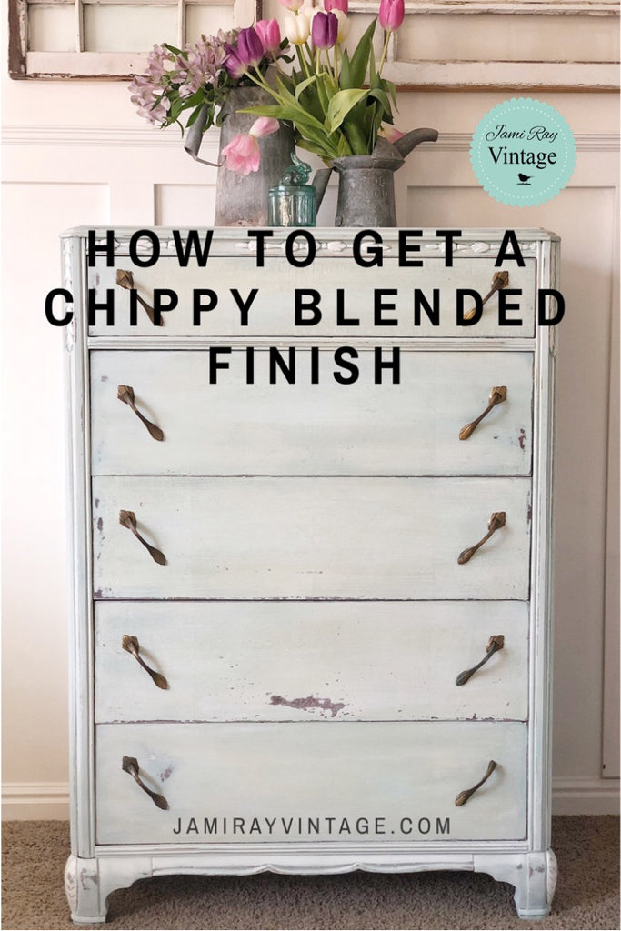 How To Get A Blended Chippy Finish | YouTube Video