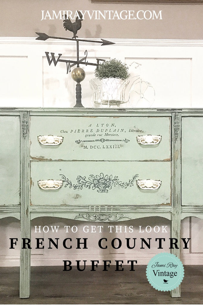 French Country Buffet | How To Get This Look | YouTube Video