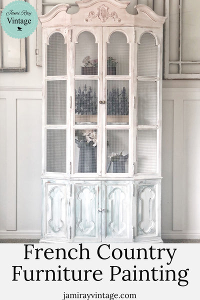 Furniture Painting | French Country Decor | YouTube Video