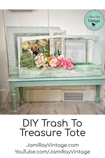 DIY Trash To Treasure Tote From Scraps