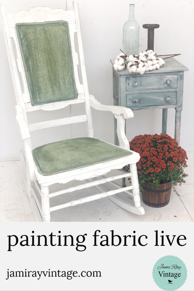 Painting Fabric | Live Demo