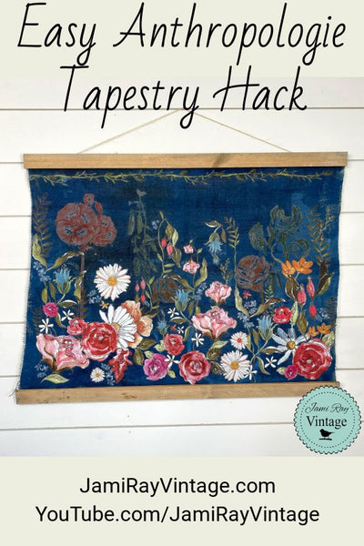 Easy Anthropologie Tapestry Hack