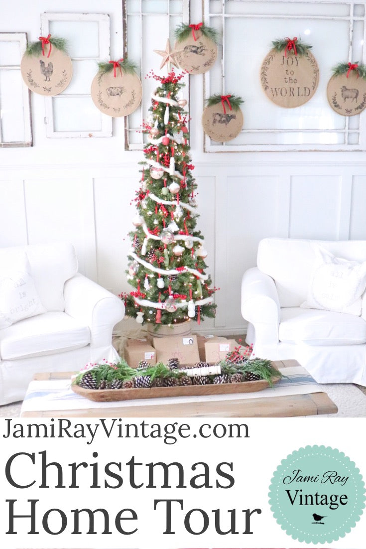 Christmas Home Tour | Homemade Christmas – Jami Ray Vintage