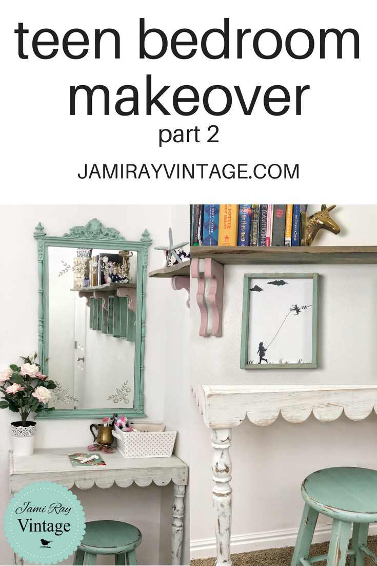 Teen Bedroom Makeover Youtube Video Part 2 Jami Ray