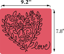 Load image into Gallery viewer, Two Hearts Set | JRV Stencils