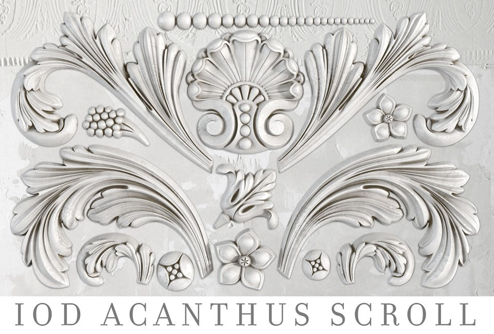 Acanthus Scroll | Decor Mould | IOD