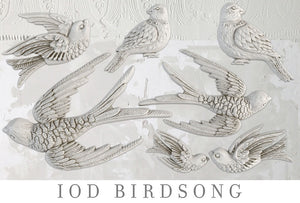 OUT OF STOCK Birdsong | Decor Mould | IOD
