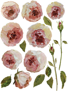 Painterly Florals | IOD Transfer