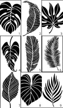 Load image into Gallery viewer, Large Leaves | JRV Stencils