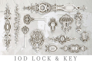OUT OF STOCK Lock & Key | Decor Mould | IOD