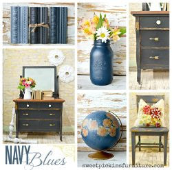 Navy Blues | Sweet Pickins | Milk Paint