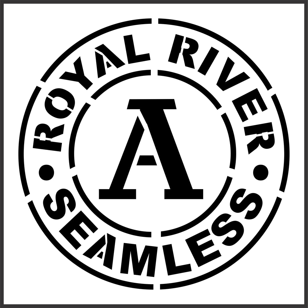 Royal River | JRV Stencils
