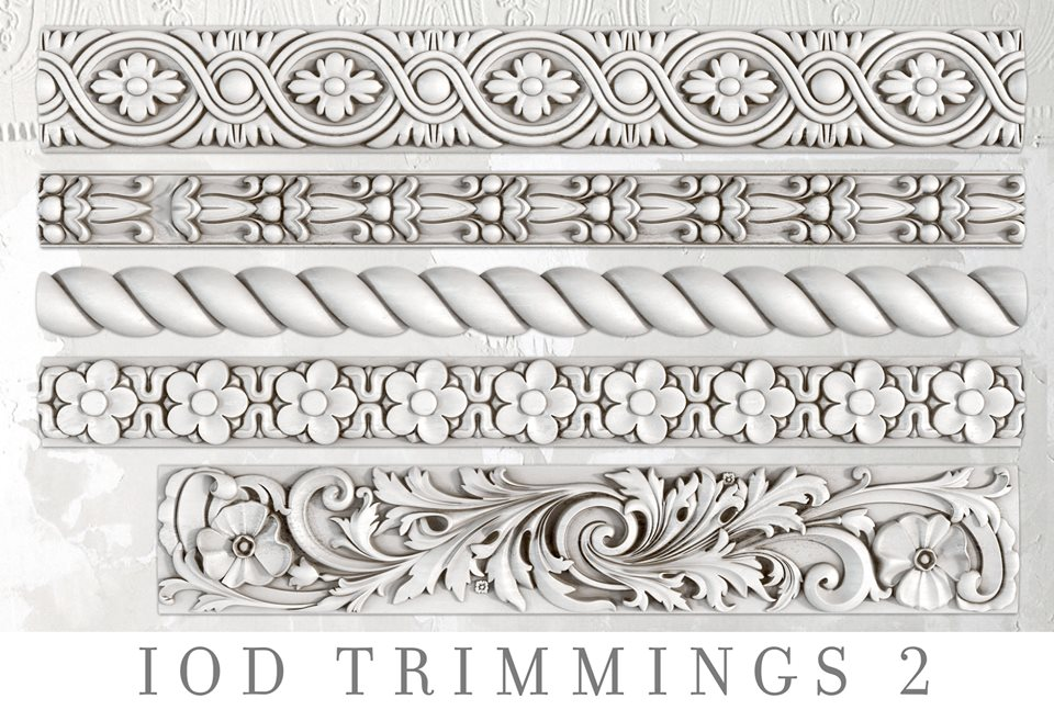 Trimmings 2 | Decor Mould | IOD