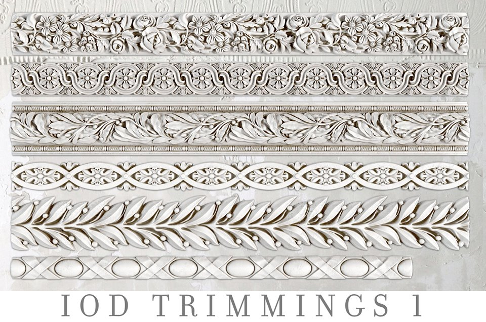 Trimmings 1 | Decor Mould | IOD