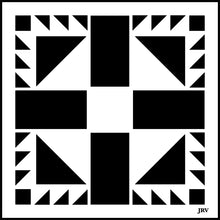 Load image into Gallery viewer, Barn Quilt Tiles | JRV Stencils
