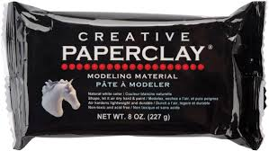 Creative Paperclay Modeling Material 8 oz