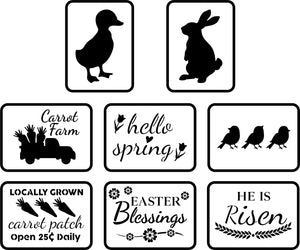 Easter Mini Pack | JRV Stencils