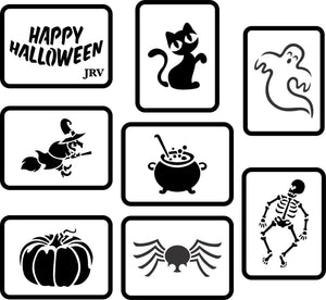 Halloween Mini Set | JRV Stencils