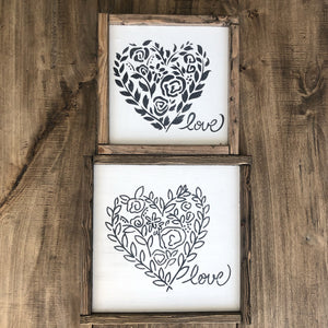 Two Hearts Set | JRV Stencils