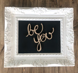 Be You | JRV Words