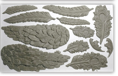 Wings and Feathers | Decor Mold | IOD