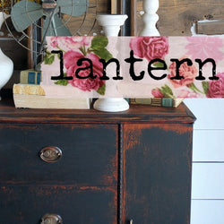 Lantern | Sweet Pickins | Milk Paint
