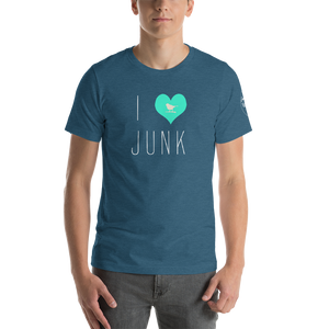 I Love Junk Short-Sleeve Unisex T-Shirt