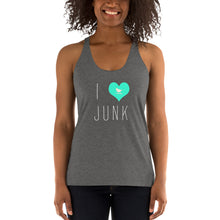 Load image into Gallery viewer, I love Junk Women's Racerback Tank