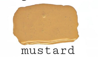 Mustard | Farmhouse Finishes