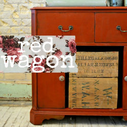Red Wagon | Sweet Pickins | Milk Paint