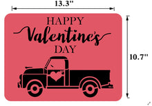 Load image into Gallery viewer, Valentine's Truck | JRV Stencils