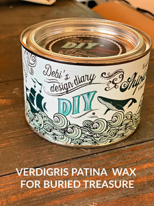 Shipwrecked Verdigris Wax | DIY Paint Co