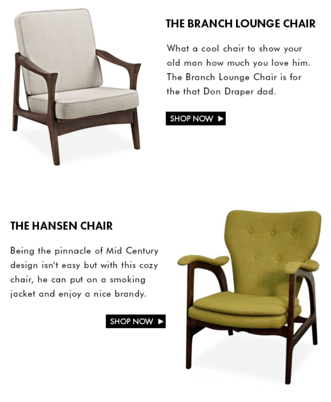 Father's Day Chairs