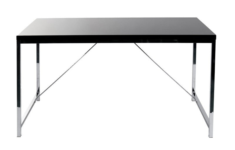 Ontario Desk BLACK/CHROME